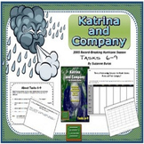 Hurricane, Fractions to Percents, Statistics, Graphing: Katrina & Co., Tasks 6-9