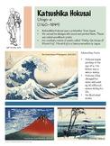 Katsushika Hokusai Artist Poster