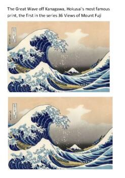 Katsushika Hokusai Handout