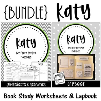 Katy. By Mary Evelyn Notgrass {BUNDLE} Worksheets. Lapbook. Interactive Notebook