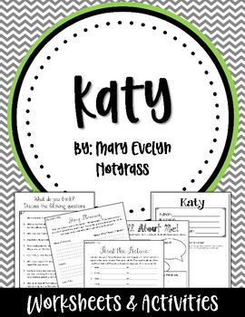 Katy. By Mary Evelyn Notgrass. Worksheets and Activities