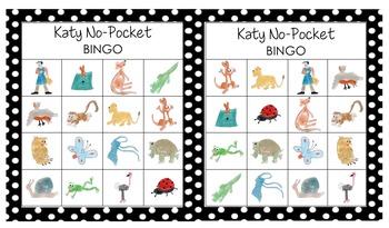 Katy No-Pocket BINGO