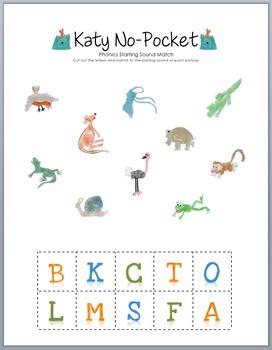Katy No-Pocket Phonics Match