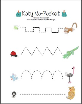 Katy No-Pocket Tracer (Multiple Lines)