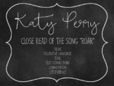 """Katy Perry's """"Roar""""- Close read & stations"""