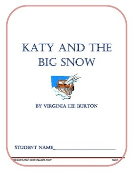Katy and the Big Snow (Comprehension and Written Response Activities}