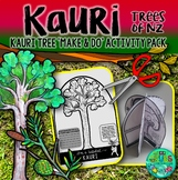 Kauri {New Zealand Trees Make & Do Activity Pack}