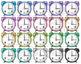 Kawaii Alarm Clocks Clipart