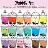 Kawaii Bubble Tea Clipart