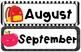 Kawaii Calendar Headers