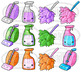 Kawaii Cleaning Supplies Clipart