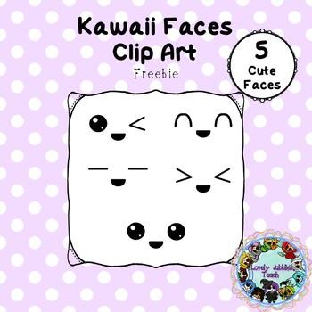 Freebie Friday 23: Kawaii Faces Clip Art