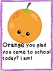 Kawaii Fruit/Snack food motivational growth posters
