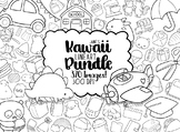 Kawaii Lineart Bundle