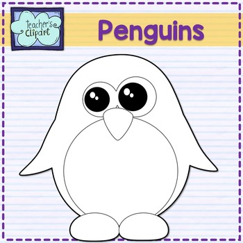 Cute Penguins clipart