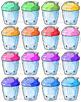 Kawaii Shaker Bottles Clipart