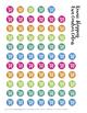 Kawaii Shopping Stickers PRINTABLE for Erin Condren Teacher Planner