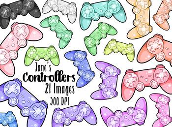 Kawaii Video Game Controllers