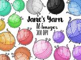 Kawaii Yarn Clipart