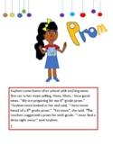 Kayleen Sixth Grade Prom