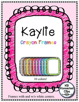 Kaylie Crayon Frames