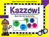 Kazzow! Aleph Bet/ Aleph Beis Hebrew Chiriq Activity (Swat
