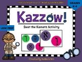 Kazzow! Aleph Bet/ Aleph Beis Hebrew Kamatz Activity (Swat