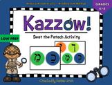 Kazzow! Aleph Bet/ Aleph Beis Hebrew Patach Activity (Swat