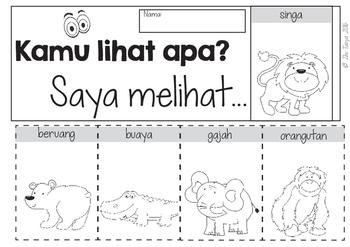 Kebun Binatang -BLM | Zoo Animals Unit | Bahasa Indonesia