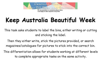 Keep Australia Beautiful Week