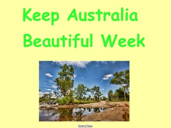 Keep Australia Beautiful Week - Recycling