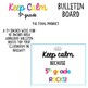 Keep Calm 5th Grade Bulletin Board