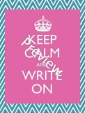Keep Calm Literacy Posters