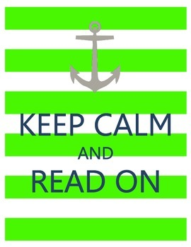 Keep Calm Nautical Posters