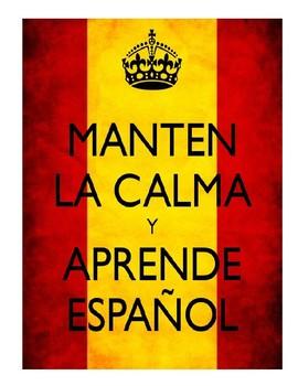 Keep Calm & .... (Spanish)