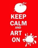 Keep Calm and Art On