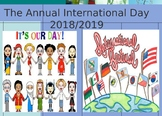 Keep Calm and Enjoy The Annual International Day