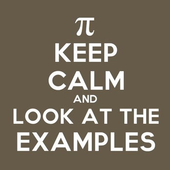 Keep Calm and Look at the Examples