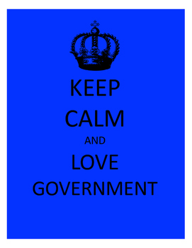 Keep Calm and Love Government