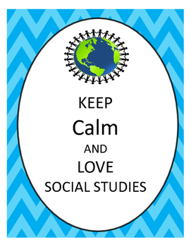 Keep Calm and Love Social Studies