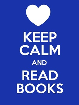 Keep Calm and Read Books (Mini Poster / Image)