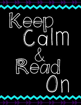 Keep Calm and Read On Posters (Letter Size)