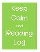 Keep Calm and Reading Log Collection