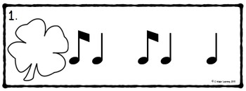 Keep Calm and Shamrock On! Write the Room Music Edition Bundled Set (6 sets)