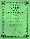 Keep Calm and Shamrock On! Write the Room Music Edition Bu