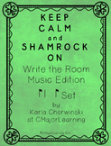 Keep Calm and Shamrock On! Write the Room Music Edition syn-co-pa Set
