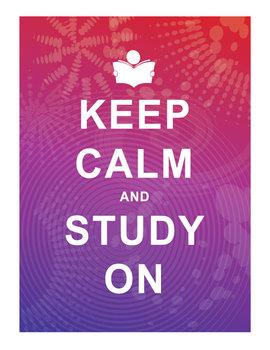 Keep Calm and Study On