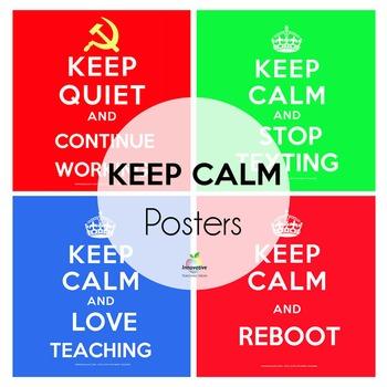 Keep Calm Poster Bundle