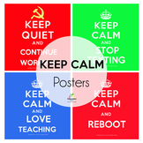 Keep Calm Poster Bundle