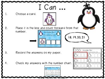 Counting Forward {penguin themed}